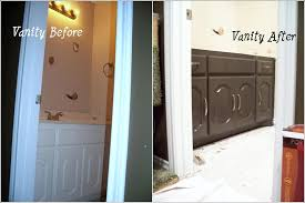 Painting A Bathroom Vanity Before And After by Before And After Life With The P U0027s