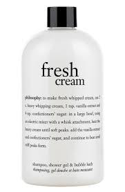 Bath And Shower Store Philosophy Fresh Cream Shampoo Shower Gel Bubble Bath Nordstrom