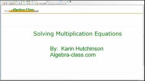 worksheet 8051035 solving multiplication and division equations