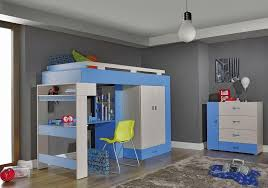 Bunk Beds With Wardrobe Bunk Bed With Wardrobe Komi 15 Youth Room Beds Bunk