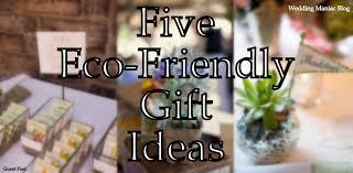 5 gifts ideas for eco friendly wedding wedding maniac
