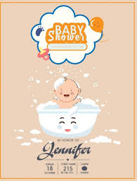 baby shower poster baby shower poster washing kid icon design free vector in