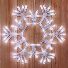 snowflakes 20 led folding snowflake decoration 70 cool
