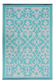 blue outdoor patio rugs turquoise furniture indoor outdoor rugs