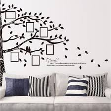 compare prices on family tree wall decal online shopping buy low picture photo frame wall stickers half tree wall sticker family tree wall decal tree home decors