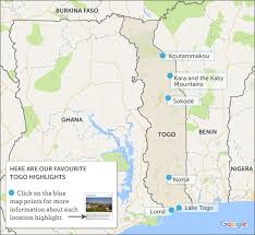 togo location on world map togo travel guide helping dreamers do