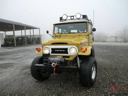 Toyota Land Cruiser Fj40 Expedition Vehicle On Off Road Fj 40