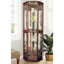 curio cabinet corner curio cabinets withts bar cabinet wayfair