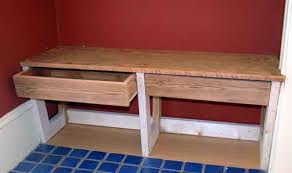 Bench Made From 2x4 Wood Bodies Custom Carpentry Window Seats And Benches
