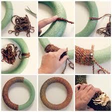 how to make wreaths diy wreath fall yarn wreath tutorial babble dabble do