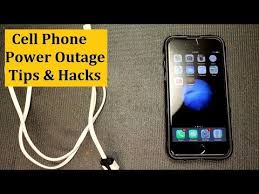 light that comes on when power goes out cell phone power outage tips light hacks youtube