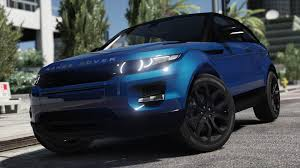 chrome range rover evoque range rover evoque add on replace tuning template gta5
