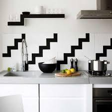 Black And White Tile Kitchen Backsplash by 261 Best Backsplash Images On Pinterest Home Architecture