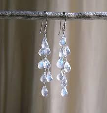 diy drop earrings with moonstones earrings rainbow moonstone drop