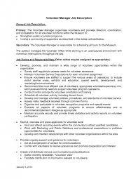 cover letter volunteer resume template