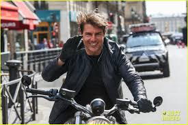 Tom Cruise Mansion by Tom Cruise Fixes His Hair After Filming U0027mission Impossible 6