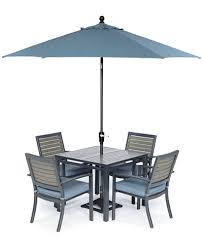 Macys Patio Dining Sets Harlough Outdoor Aluminum 5 Pc Dining Set 36