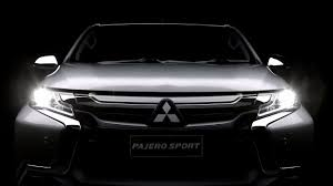 pajero sport mitsubishi video 2016 mitsubishi pajero sport teaser released micro website