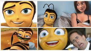 Bee Movie Meme - think bee the cross pollination of the bee movie into the