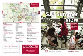 july 19th sju summer view open house schedule by sju admissions