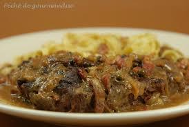 cuisiner paleron paleron de bœuf sauce au poivre péché de gourmandise