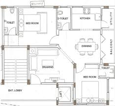 Spacious 3 Bedroom House Plans Architecture Contemporary Style Home Designs Plans With Wide