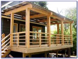 Patio Rails Ideas Building A Deck Railing Collection Also Railings Ideas And Options