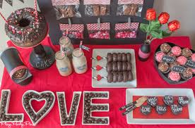Valentine S Day Party Decor by Chalkboard Valentine U0027s Day Party Ideas