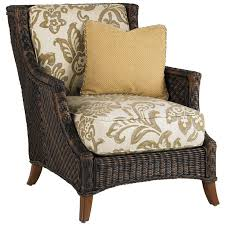 Patio Club Chair Bahama Island Estate Lanai Wicker Patio Club Chair