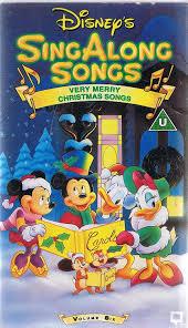 disney s sing along songs volume 6 merry songs