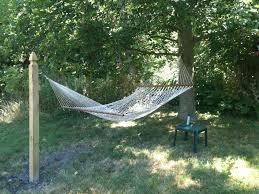 outdoor backyard hammock