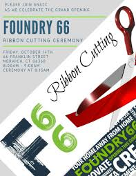 celebrate it 360 ribbon foundry 66 ribbon cutting grand opening greater norwich area