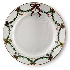 christmas plate fluted christmas 10 75 dinner plate dinner plates