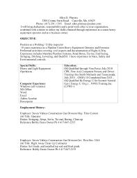 light equipment operator job description allensresume docx