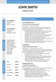 Microsoft Word Resume Builder Download Executive Resume Template Word Haadyaooverbayresort Com