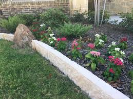 Rock Garden Beds Rock Flower Beds Rock Photo Erin Huffstetler With Rock Flower