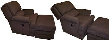 tilt back chair with ottoman custom pushback chair ottoman mbu interiors