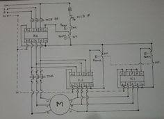 three phase motor connection star delta without timer power