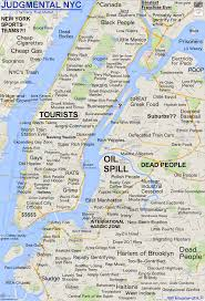 map of nyc judgmental maps new york ny the parts that matter by rbd