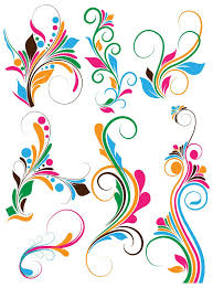 butterfly swirls clipart png collection
