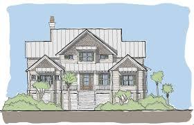 Coastal House Plans Narrow Lots one story garage apartment plans