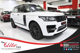 land rover dubai range rover vogue hse svo kit 2016 the elite cars for brand new