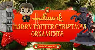 harry potter ornaments hallmark hallmark 2016 ornaments