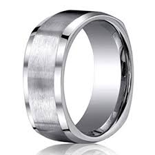 titanium mens wedding bands benchmark men s 9mm comfort fit four sided square titanium wedding