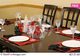 Dining Table Settings Pictures Dining Table Setting Free Stock Images Photos