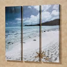 coastal and tropical canvas wall art touch of class