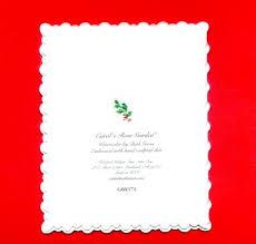carol wilson christmas cards roseoftheparty rakuten global market embossed lame carol wilson