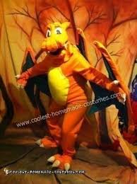 Charizard Halloween Costume Coolest Diy Pokemon Charizard Halloween Costume