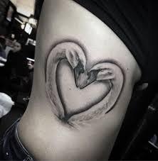 cute heart tattoo designs swans love http tattooideas247 com swans love u003c u003ccute tattoos