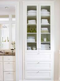 Bathroom Built In Bathroom Storage Cabinets Awesome With Images Of